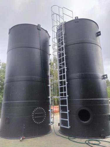 Acid tanks