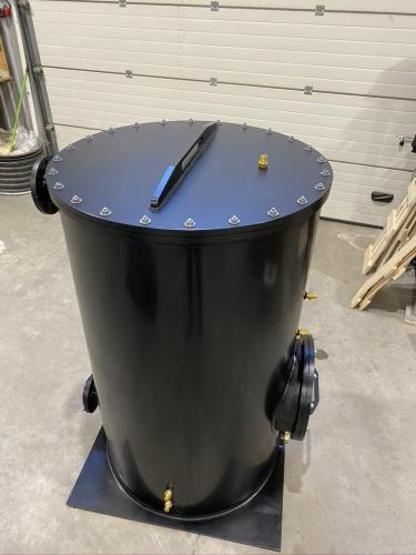 Odour cleaning tanks