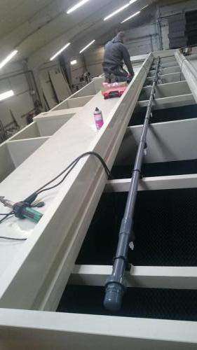 Odour removal tank